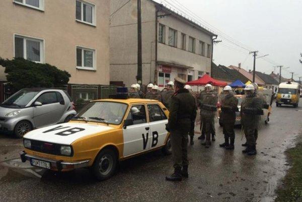 Oslavy nežnej revolúcie v Dojči.