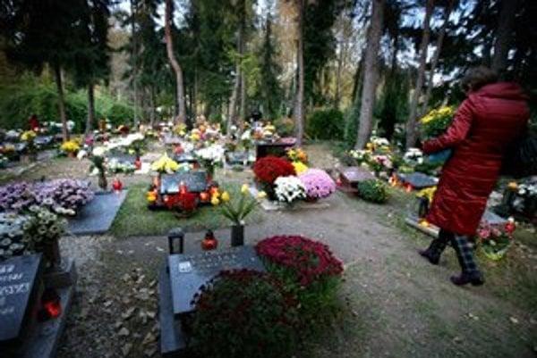 Reálnych plamienkov môže čoskoro na cintorínoch ubudnúť.