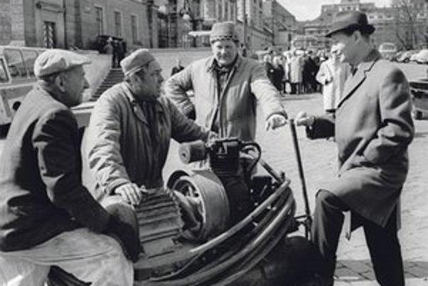 Do roku 1968 bol Alexander Dubček miláčikom médií. Fotografie po invázii sú skôr v archívoch ŠtB.
