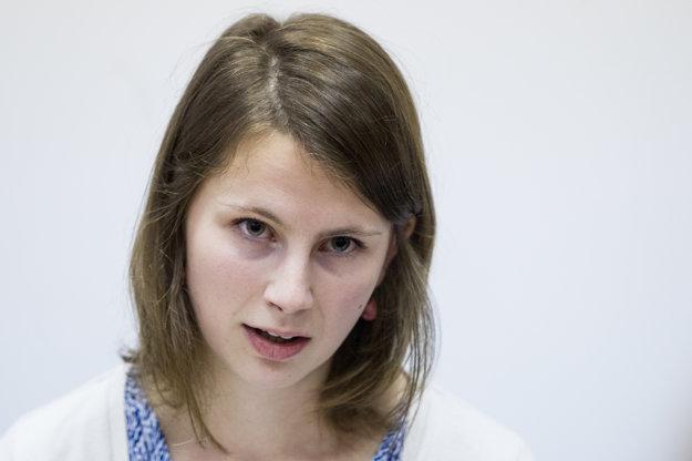 Bývalá zamestnankyňa Ministerstva zahraničných vecí a európskych záležitostí Zuzana Hlávková.