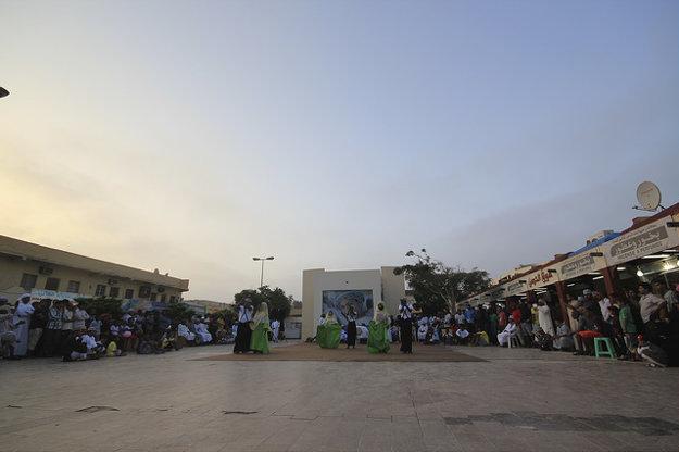 Haffa souq je okrem nákupov tiež miestom spoločenského života v Salalah.