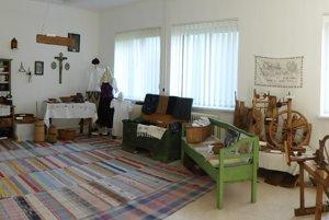 Múzeum na Obecnom úrade v Liesku.