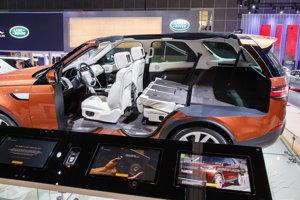Land Rover Discovery sa bude vyrábať pri Nitre