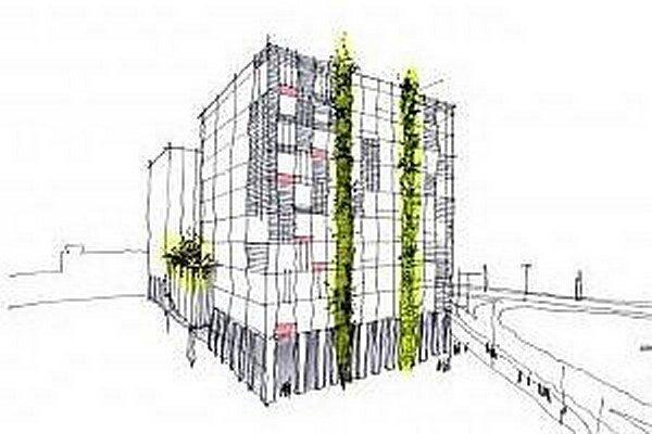 Nový administratívny projekt má spĺňať parametre zelenej budovy.