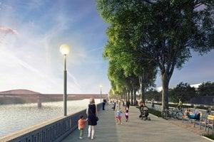 Podľa dohody investor do siedmich mesiacov opraví existujúcu promenádu v dĺžke od River Park I po Most Lafranconi a do troch rokov (od vydania stavebného povolenia) vybuduje novú promenádu v území nového projektu.