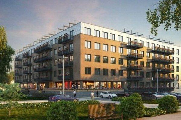 Na ulici Antona Prídavku v Prešove pribudne 100 bytov a obchodné priestory.
