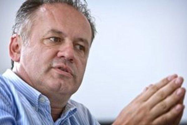 Zakladateľ Dobrého anjela, filantrop Andrej Kiska.