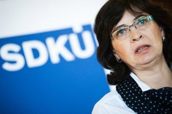 Lucia Žitňanská kritizuje šéfa justície. Podľa nej mal predložiť aspoň koncept, ako zlepšiť vymožiteľnosť práva a fungovanie súdov.