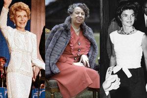 Nancy Reagan, Eleanor Roosevelt, Jackie Kennedy