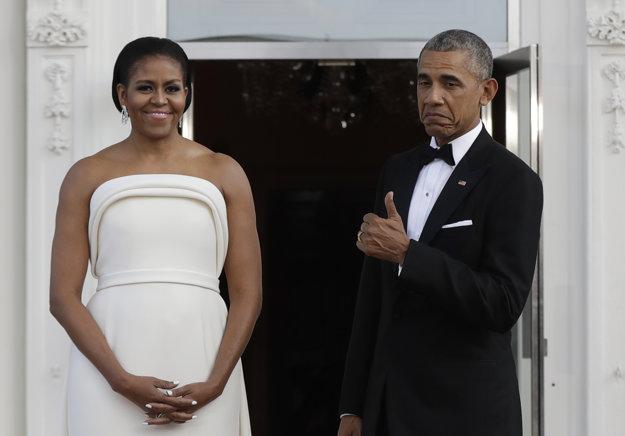 Michelle a Barack Obama