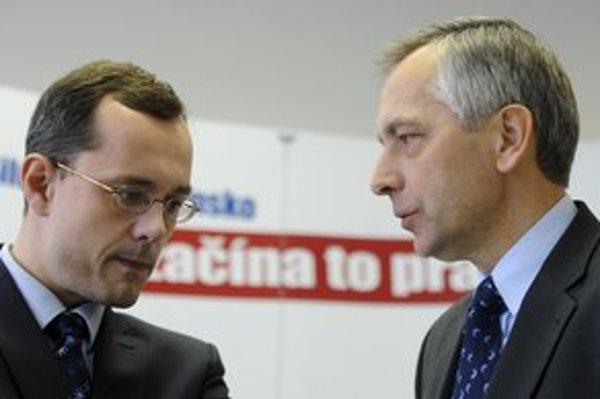 Radoslav Procházka a Ján Figeľ.