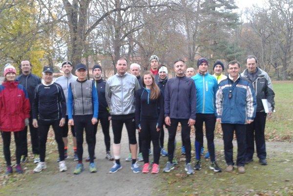 Účastníci Topoľčianskej bežeckej ligy.