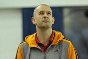 Tréner MBK Ružomberok Juraj Suja.