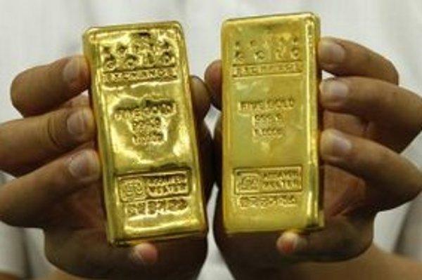 Zlaté tehličky.