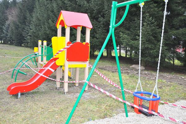 V Leviciach majú pribudnúť malé detské ihriská.