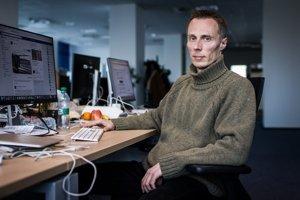 Novinár Marek Vagovič.