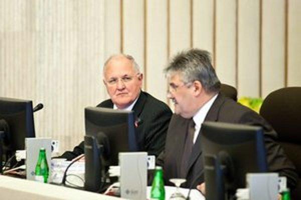 Dušan Čaplovič a Ján Richter.