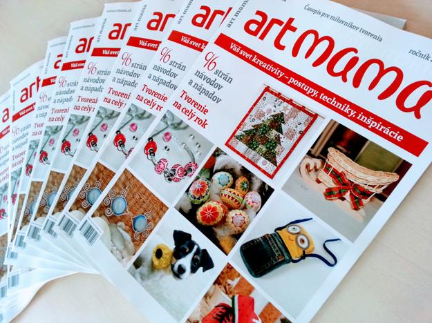 Časopis Art mama - ročenka pre všetkých milovníkov tvorenia