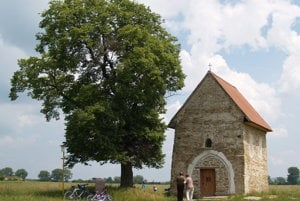 Kostol svätej Margity Antiochijskej pri Kopčanoch.
