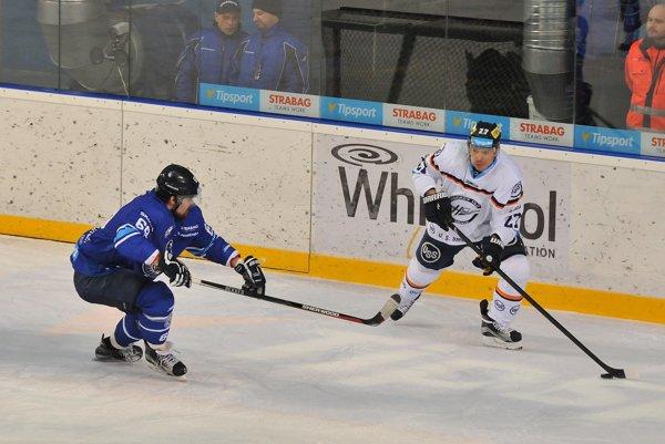 Ladislav Nagy na popradskom ľade.