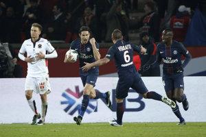 Hráči PSG takmer prehrali aj s Nice.