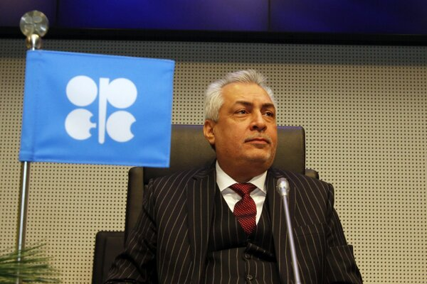 Prezident OPEC a iracký minister ropného priemyslu Abdal Kárim Luaibi.