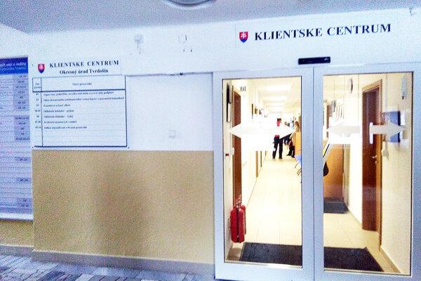 V Tvrdošíne je jedno zo štyroch klientskych centier v kraji.