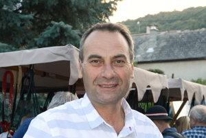 Pavel Bendík, starosta obce Hrušov