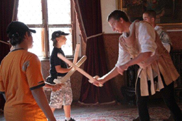 Rytierom na Bojnickom zámku sa môže stať ktokoľvek, kto splní úlohy.