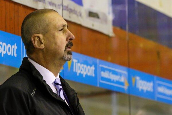 Zdeno Cíger, tréner slovenskej hokejovej reprezentácie.