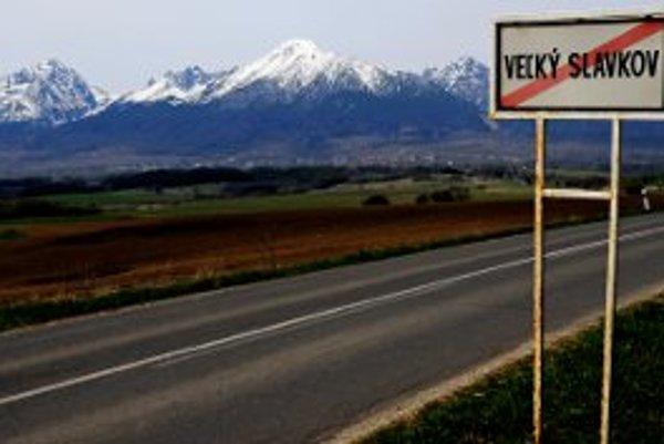Lukratívne pozemky ležia pod Tatrami.