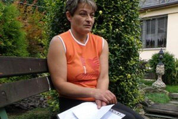 Daniela Domaníková má strach ísť nakupovať. Obáva sa, že opäť ostane bez peňazí.