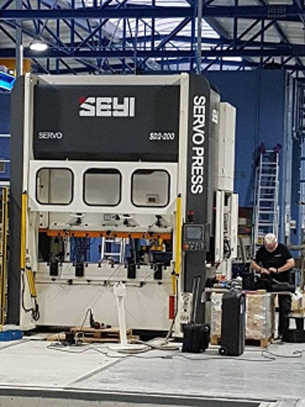 Vďaka novej technológii dokáže Gnotec Čadca zvýšiť kapacitu výroby.