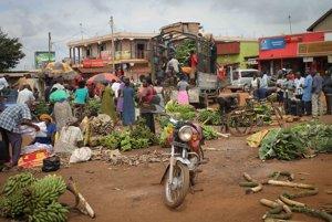 Keňa je z veľkej časti neúrodná krajina.