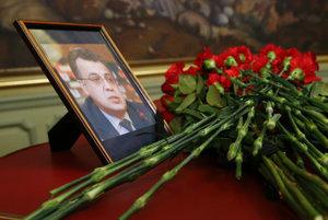 Spomienková fotografia na ruského veľvyslanca.