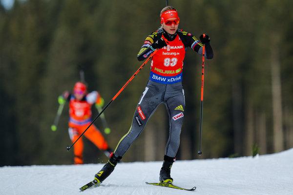 Anastasia Kuzminová v tejto sezóne štartovala zatiaľ len v druhom kole Svetového pohára v slovinskej Pokljuke.