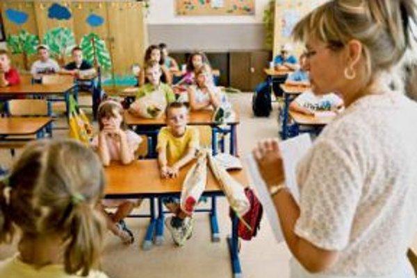 O učiteľské miesta je záujem.