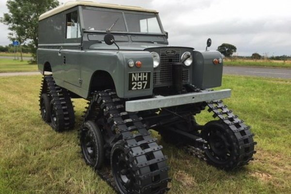 Land Rover Series II v úprave Cuthbertson