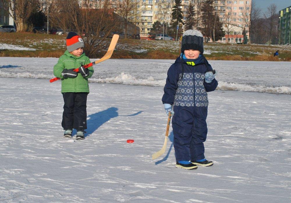 Naše hokejové nádeje.
