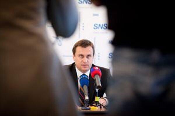 Podpredseda SNS Andrej Danko.