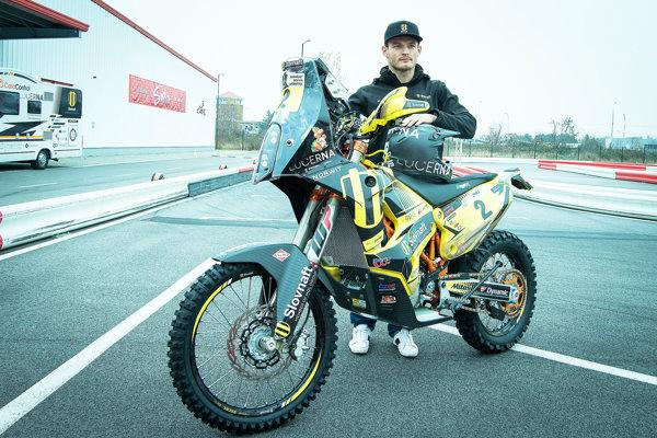 Štefan Svitko štartuje na 39. ročníku s novou motorkou.