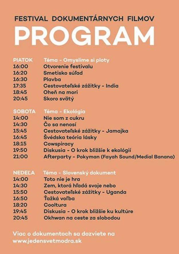 Program festivalu