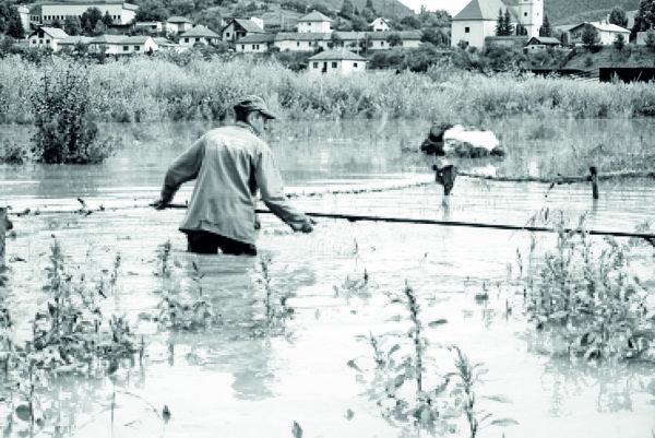 Fotografie z mohutnej prietrže v Trnave v 50. rokoch sa nám nepodarilo nájsť ani v archíve.