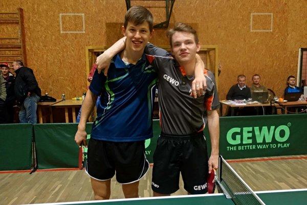 Finále obstarali Andrej Kaššay (vľavo) a Alexander Valúch (vpravo).