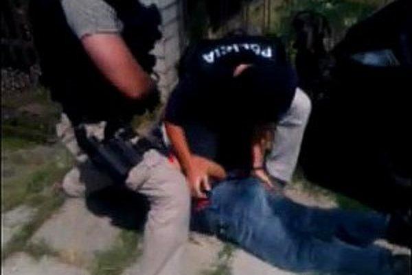 Zadržanie údajného Ožvoldovho vraha.