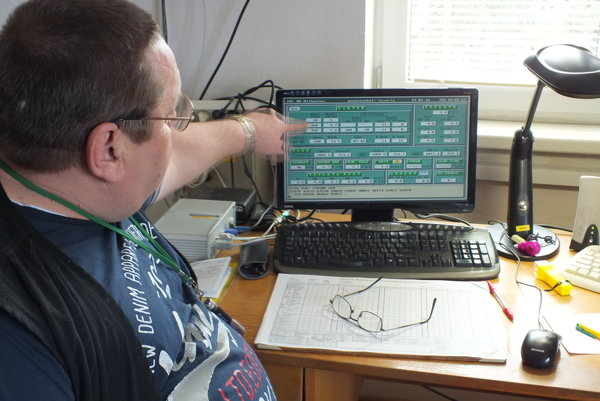 Michal Lorinc z meteorologickej stanice  SHMU v Milhostove