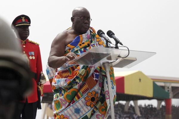 Ghanský prezident Nana Akufo-Addo.