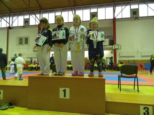 Najmenší medailisti. V Poprade rastie talentovaná mládež.