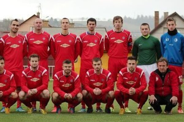 Palúčanský futbalový tím.