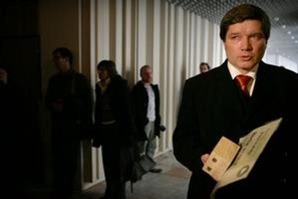 Sudca Peter Paluda.